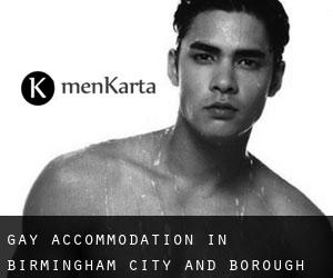 Gay Accommodation in Birmingham (City and Borough)
