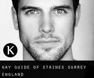 gay guide of Staines (Surrey, England)